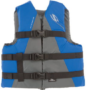 Classic Series Nylon Vests, Youth Blue