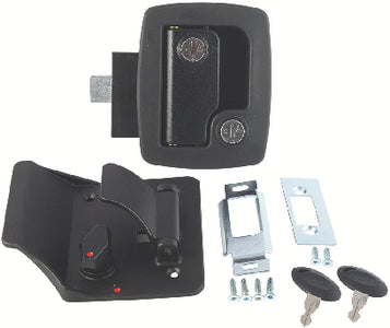 AP Products Black 013-520 Bauer RV Entry Door Lock