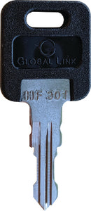 AP Products Pre-Cut Replacement Key for Fastec Locks, #307 5/Pk