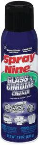 Spray Nine 23319 Glass & Stainless Steel Cleaner, 19 oz.