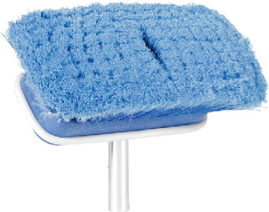 "Camco 419207 Blue Multi-Purpose Extra Soft 7"" Wide Brush Head"