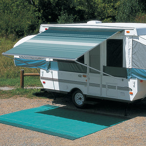 "Carefree 11'6"" Campout Bag Awning, Teal"