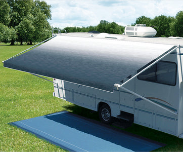 Carefree Vinyl Roller Assembly For 12V Eclipse, Travel'r or Pioneer Awnings, 15' Silver Fade