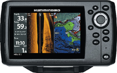 Humminbird HELIX 5 CHIRP SI Combo Fishfinder/GPS/Chartplotter With Side Imaging<sup>&reg;</sup>