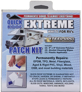 "Quick Roof UBE88 Extreme Patch Kit With Applicator 8"" x 8"""