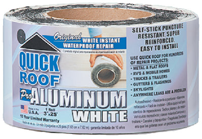Quick Roof Aluminum White