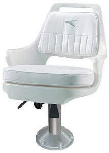 "Pilot Chair Package With Cushions, 15"" Pedestal w/Slide"