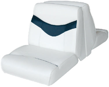 Wise 8WD11730031 Bayliner Capri Lounge Seat Only w/o Base, Bright White/Midnight