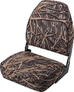Wise 8WD617PLS729 Camouflage High-Back Fold-Down Seat, Mossy Oak Shadow Grass