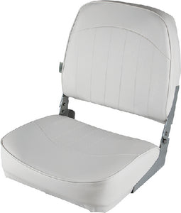 Wise 8WD734PLS717 Economy Fold Down Fishing Seat, Grey