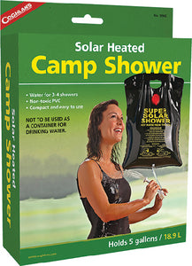 Coughlans Solar Heated Camp Shower, 5 Gal.