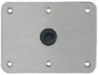"Attwood Lock-N-Pin Base Plate 6"" X 8"""