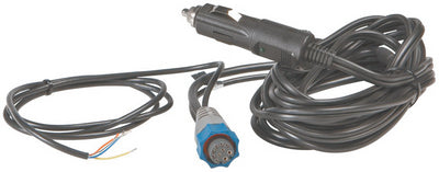 Lowrance 000-0119-10 12V Cigarette Lighter Power Adapter (Blue Connector)
