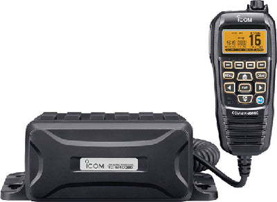 Marine Black Box VHF Transceiver, Black Mic