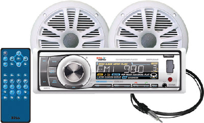 Marine AM/FM/CD/MP3/WMA/SD/AUX Bluetooth<sup>&reg;</sup> Enabled Receiver
