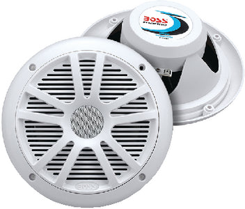 "6-1/2"" 2-Way Marine Speakers, White"