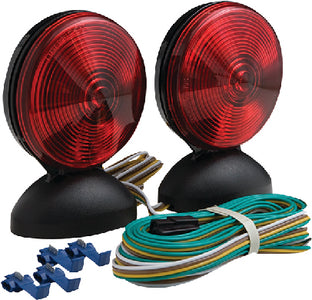 Optronics TL22RK Magnet Mount Towing Light Kit <SPACER TYPE=HORIZONTAL SIZE=1> Includes 20' Wishbone Style Wiring Harness