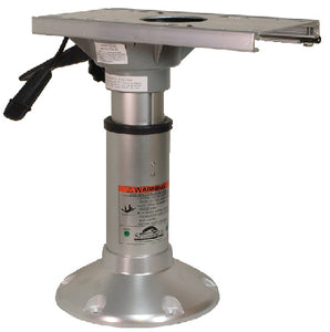 "Springfield 2-7/8"" Series Heavy-Duty Mainstay Pedestal Package 14-1/2"" to 20"" With 9"" Base (Includes Base, Post and Slide & Swivel)"