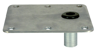 Kingpin™ Offset Deck Base, Stainless