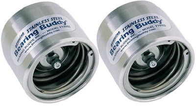 Bearing Buddy Stainless Steel Trailer Wheel Bearing Protector <SPACER TYPE=HORIZONTAL SIZE=1> 2 Pack