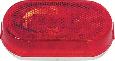 Anderson Oval Combination Clearance/Side Market Light, Red