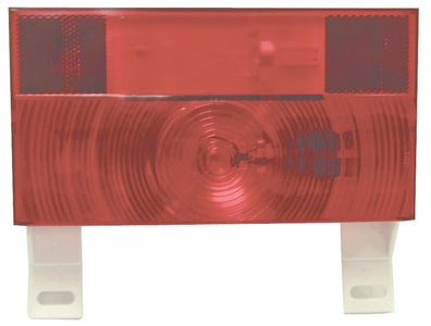 Peterson Manufacturing V25913 Red Turn and Tail License Light with Reflex