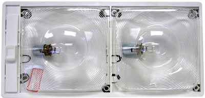 Peterson Manufacturing V376S Clear Interior Ceiling Light