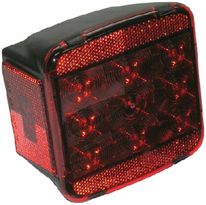 "Anderson LED Under 80"" Wide Combination Tail Light (Push-To-Light)"