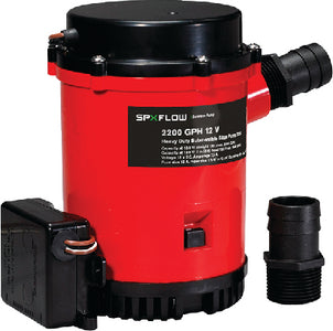 2200 Heavy Duty Automatic Bilge Pump with Ultima Switch 12V