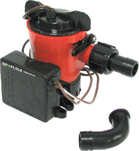Johnson Pump Ultima Combo Package Includes Bilge Pump and Ultima Switch 12V