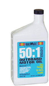LubriMatic 11591 TC-W3 2-Cycle Ashless Engine Oil for Outboard Motors