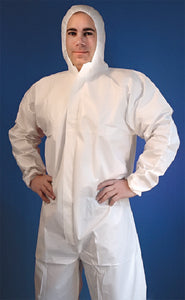 Buffalo SMS Disposable Coverall With Hood, XXL