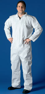 Buffalo SMS Disposable Coverall Non Hooded, Lg