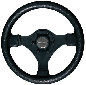 Uflex Soft Touch Steering Wheel, Black