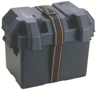 Attwood Standard Non-Vented Battery Box For Group 24/24M, Black