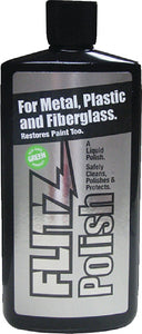 Flitz LQ 04506 Green Multi-Purpose Polish and Cleaner Liquid for Metal