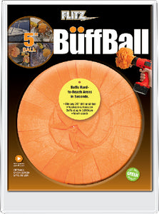 "Flitz PB101 Large 5"" Original Buff Ball"