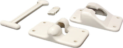 "Kwikee 906461002 T-Style Door Holder, 6"" White"