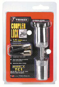 Trimax Chrome TC1 Fixed Coupler Lock-7/8