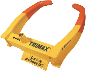 "Trimax TCL75 Deluxe Universal 7"" - 11-1/4"" RV Wheel Chock Lock"