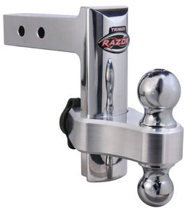Trimax Adjustable Aluminum RV Trailer Hitch with Lock