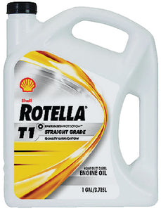 Shell 550019891 Rotella 30 Weight Diesel Oil, 5 Gal. Pail