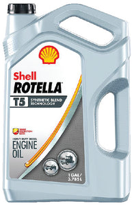 Shell Rotella<sup>&reg;</sup> T5 Synthetic Blend Diesel Engine Oil