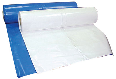 Premium Shrink Wrap SFHM0720089BU - 7 Mil, Lightweight Roll, Blue, 20' x 89'
