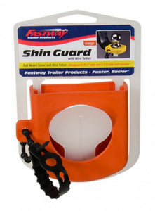 Fastway 82-00-3126 Hitch Orange Shin Guard With Wire Tether