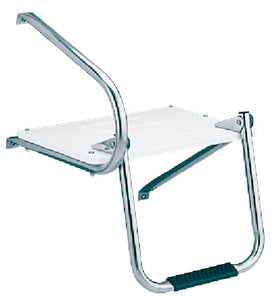 Garelick EEz-In Swim Platform With 1 Step Fold Down Ladder For Boats With Outboard Motors