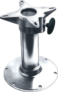 "Garelick EEz-in 2-7/8"" Diameter Fixed Height Smooth Stanchion Seat Base"