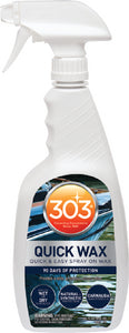 Quick Wax w/Carnauba, 32 oz., 6/case
