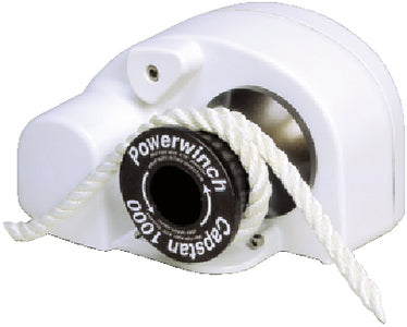 "Powerwinch Capstan 1000 Multipurpose Rope Winch For Anchoring, Sailing and Fishing, 1000 lb. Pull Max, Uses Up to 3/4"" Rope (Not Included)"