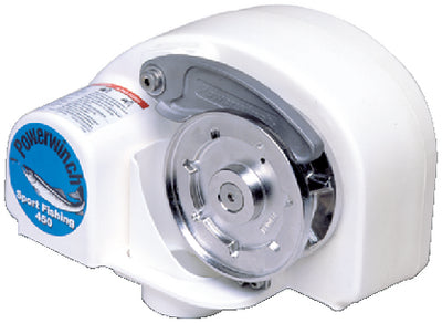 Powerwinch Sport Fishing 450 Automatic Helm Operated Free-Fall Windlass, 450 lb. Pull